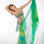 Alanah-veil:aqua costum
